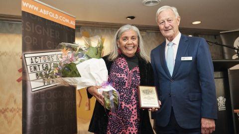Roxanne McDonald Receives Lifetime Achievement Award